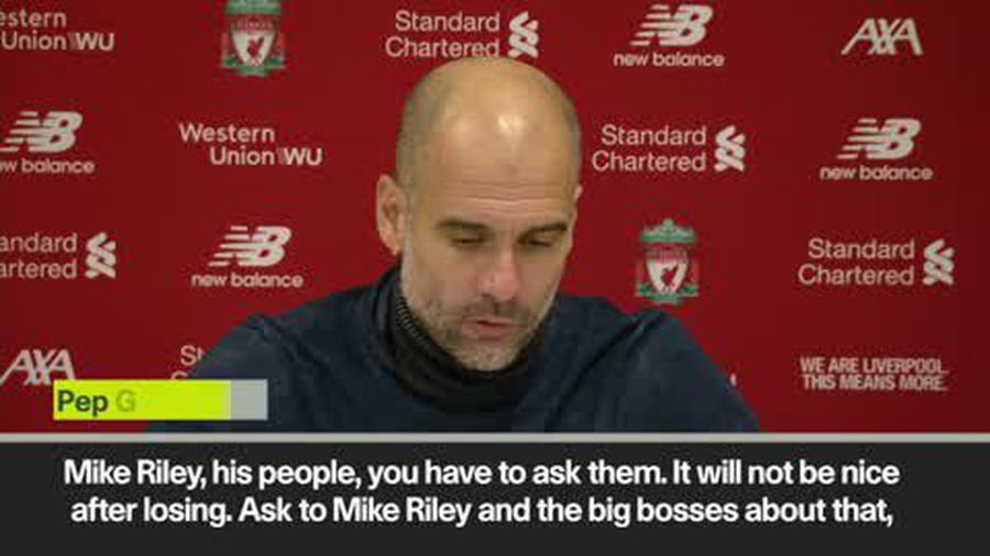 'Ask the VAR Bosses. Don't ask me' Pep on the penalty incidents