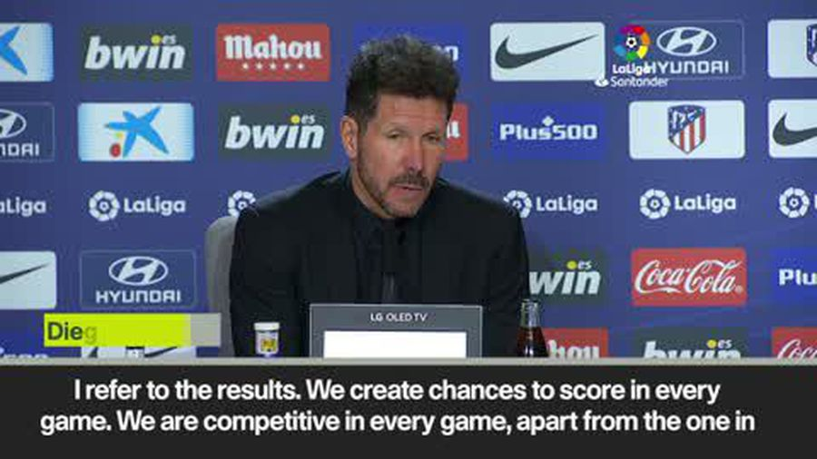 'We have to improve, we are Atletico'. Simeone after Atletico Madrid beat Espanyol 3-1