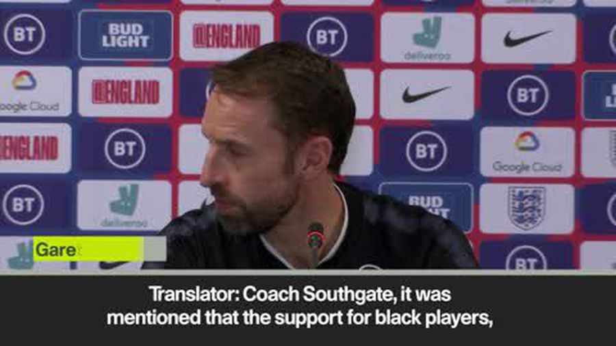 """French fans booing would not be """"most ludicrous part of week"""" jokes Southgate"""