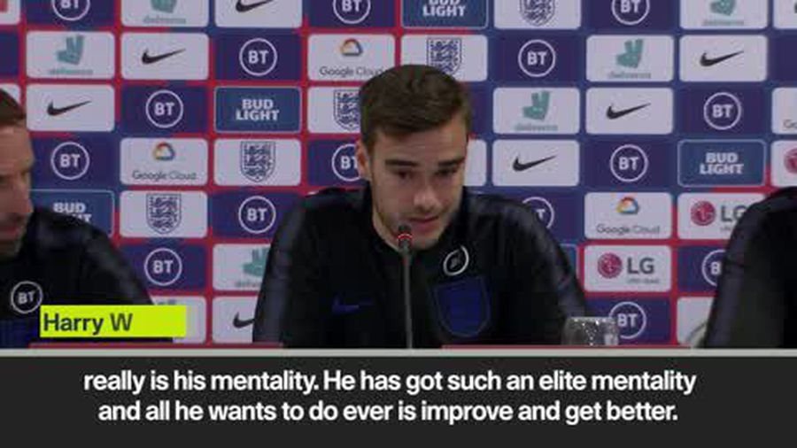 Kane 'one of the best strikers in the world' - Harry Winks