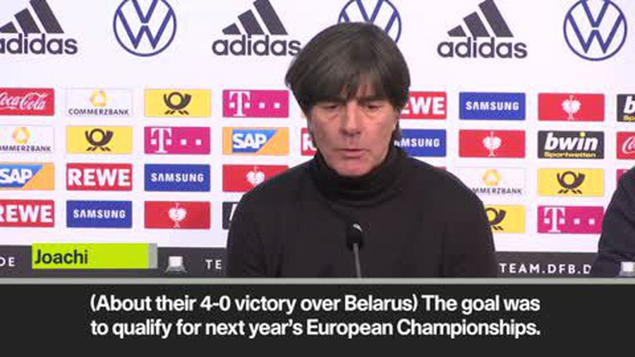 'Same character needed at Euro 2020' - Joachim Low after Germany seal qualification