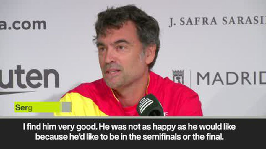 'Nadal very motivated ahead of Davis Cup in Madrid' says Spain captain Bruguera