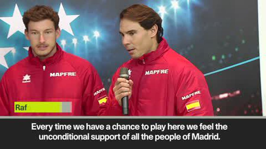 Nadal hopes for a 'special week in Madrid' ahead of Davis Cup Finals