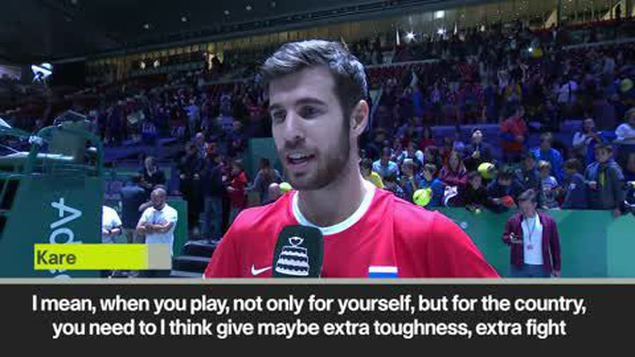 'You have to give extra for your country' - Russia's Karen Khachanov