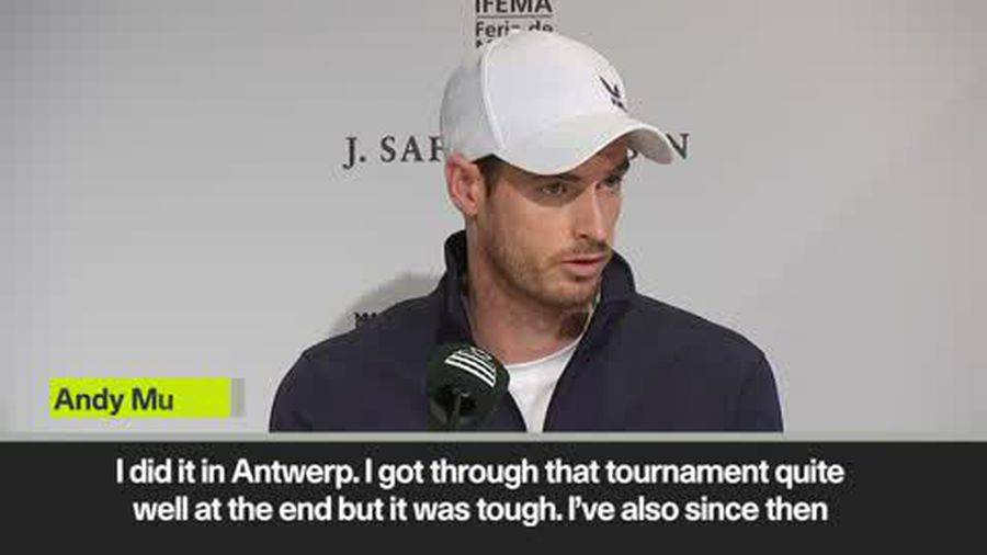 Andy Murray admits five matches in five days would be difficult for him currently