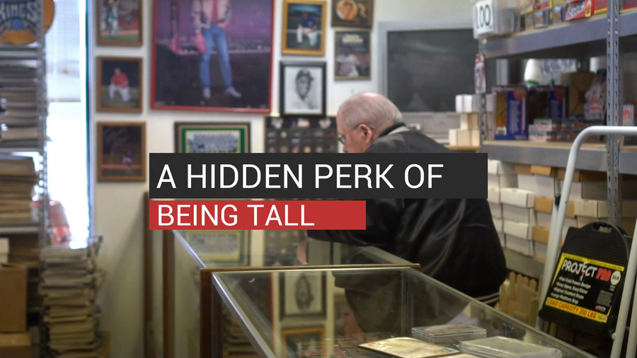 A Hidden Perk Of Being Tall