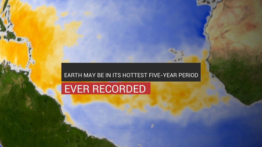Earth May Be In Its Hottest Five-Year Period Ever