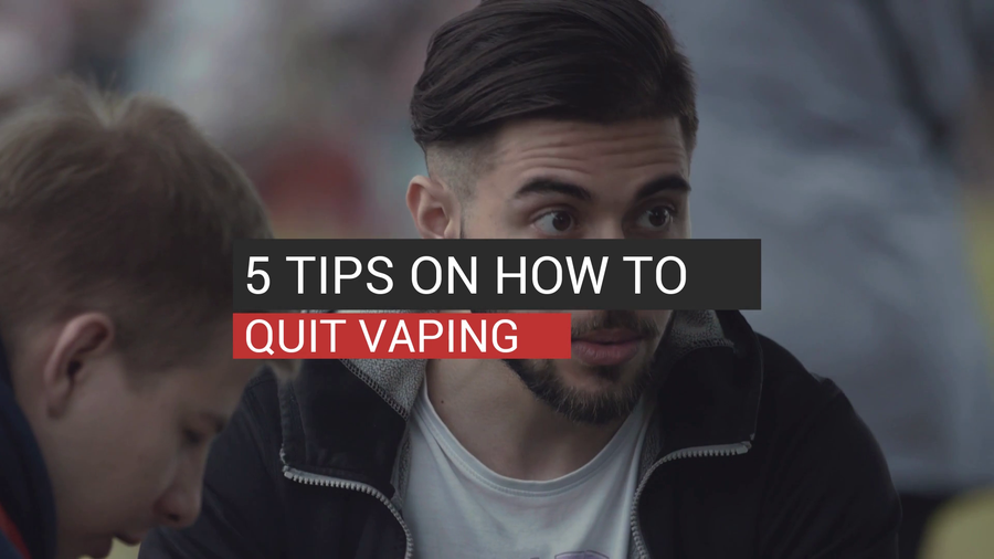 5 Tips On How To Quit Vaping