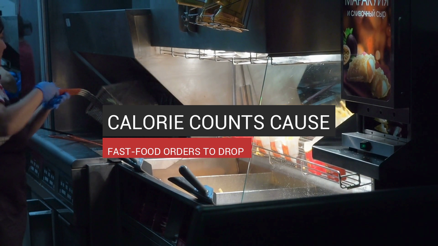 Calorie Counts Cause Fast-Food Orders To Drop