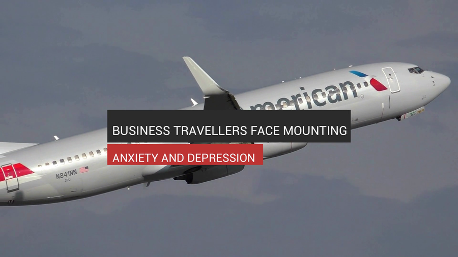 Business Travellers Face Mounting Anxiety And Depression