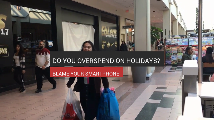Overspending On Holidays? Blame Your Smartphone