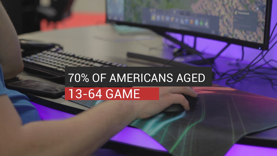 70% Of Americans Aged 13-64 Play Games