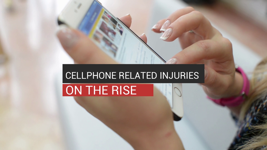 Cellphone Related Injuries On The Rise