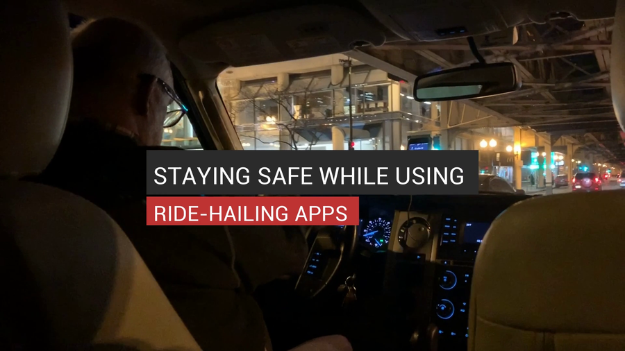 Staying Safe While Using Ride-Hailing Apps