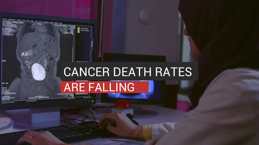 Cancer Death Rates Are Falling
