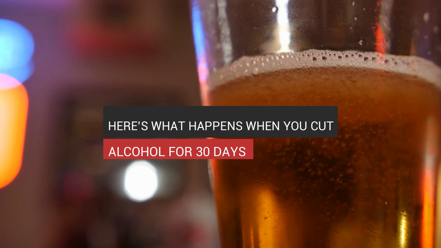 What Happens When You Cut Alcohol For 30 Days