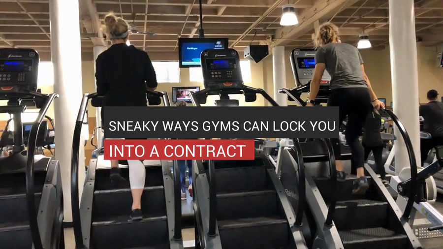 Sneaky Ways Gyms Can Lock You Into A Contract
