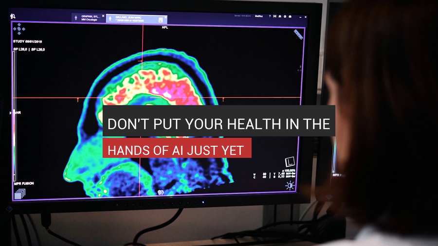 Don't Put Your Health In The Hands Of AI Just Yet