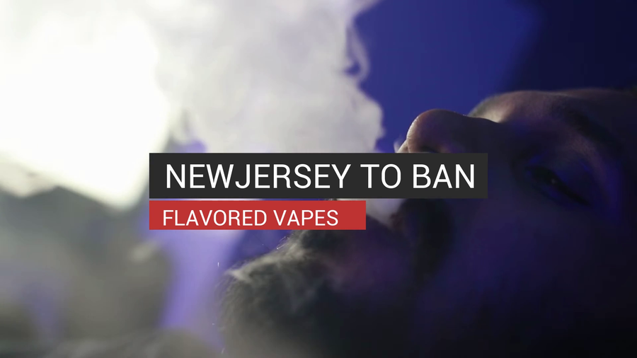 New Jersey To Ban Flavored Vapes