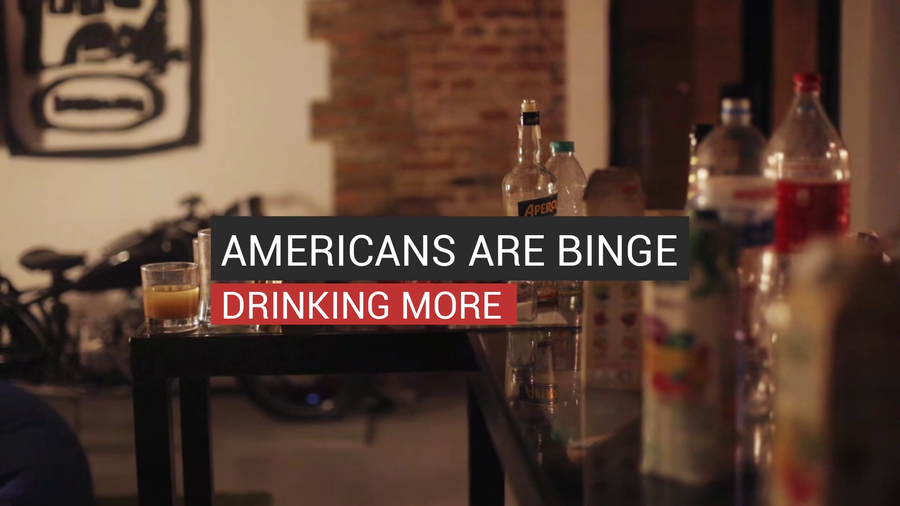 Americans Are Binge Drinking More
