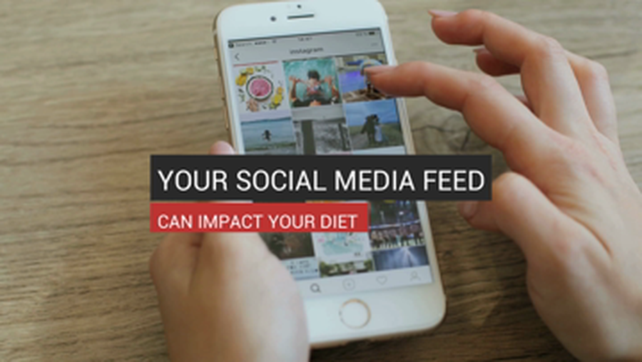 Your Social Media Feed Can Impact Your Diet