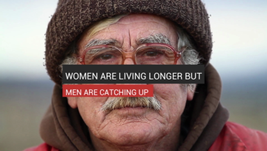 Women Are Living Longer But Men Are Catching Up