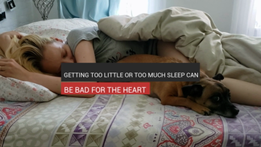 Getting Too Little Or Too Much Sleep Can Be Harmful