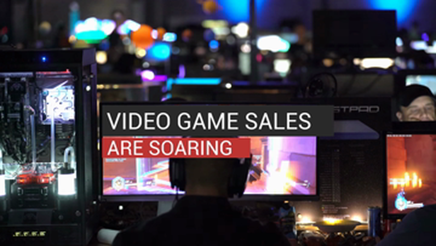 Video Game Sales Are Soaring