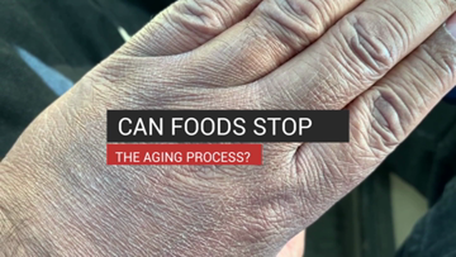 Can Foods Stop the Aging Process?
