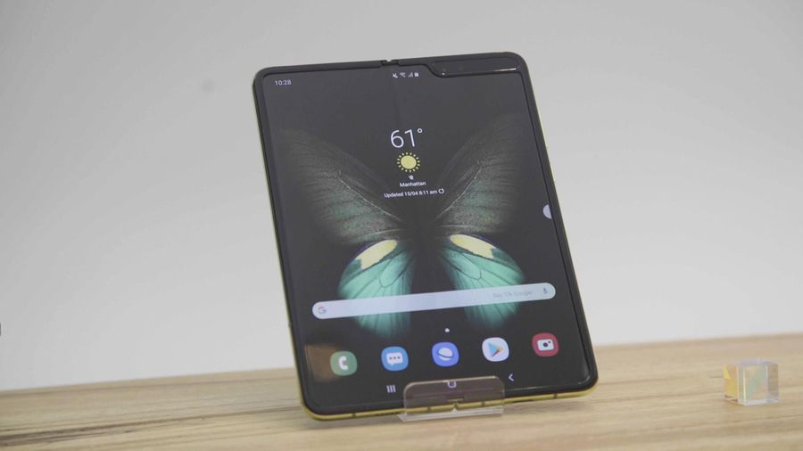 Unfolding the Samsung Galaxy Fold