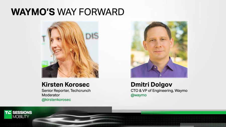Waymo's way forward with Dmitri Dolgov (Waymo)