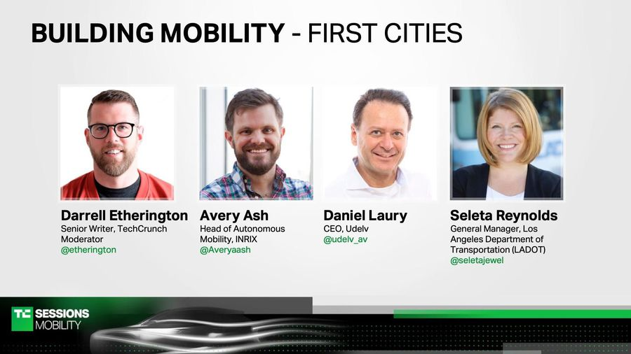Building Mobility-First Cities with Avery Ash (INRIX), Daniel Laury (Udelv), and Seleta Reynolds (Lo