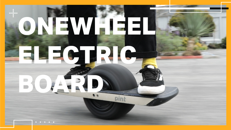 The evolution of the Onewheel