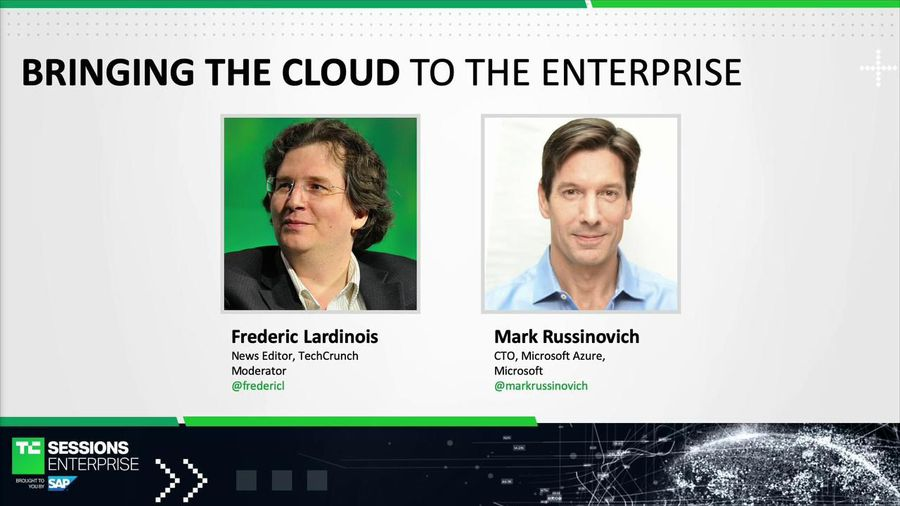 Bringing the Cloud to the Enterprise with Mark Russinovich (Microsoft)