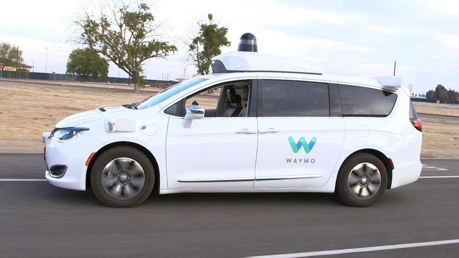 A ride in a Waymo driverless car