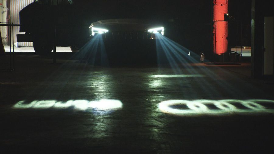 Audi's lighting technology