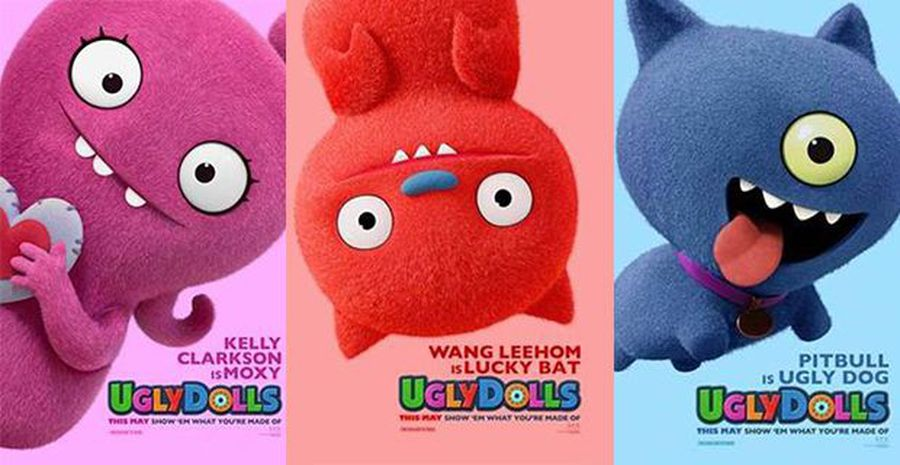 Meet the adorable characters of Ugly Dolls