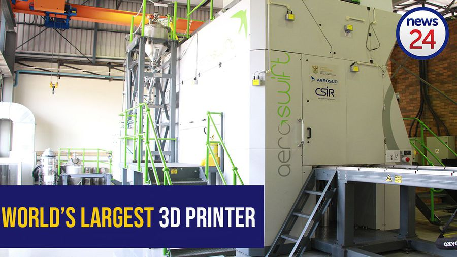 WATCH: World's largest 3D printer lives in South Africa