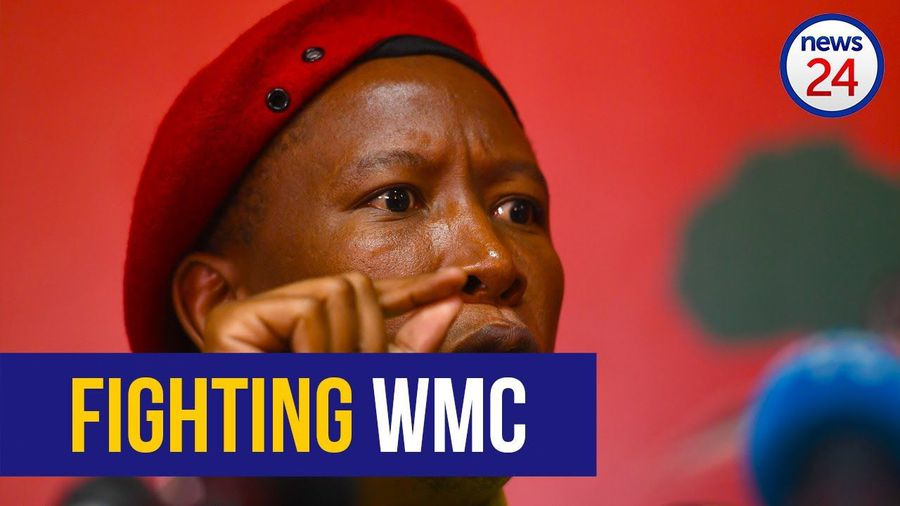 WATCH LIVE: Julius Malema addresses the crowd outside #StateCaptureInquiry