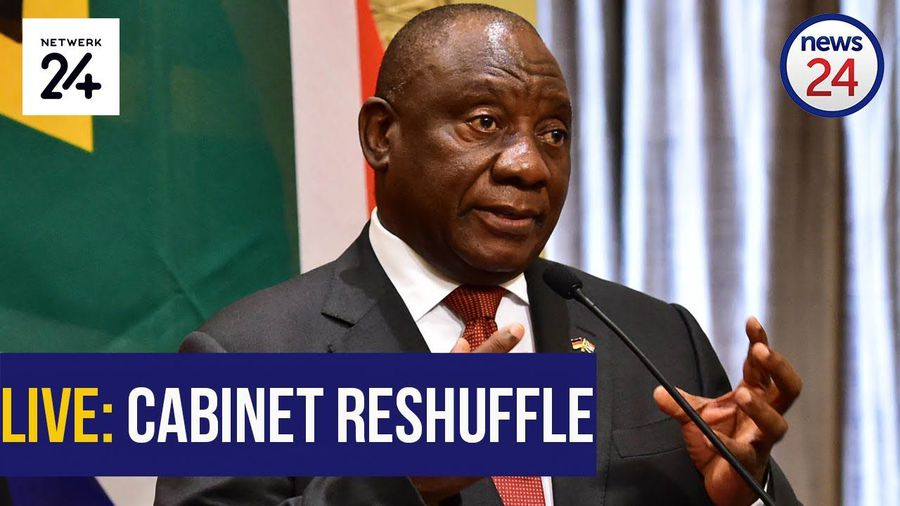 WATCH | #CabinetReshuffle: Ramaphosa announces changes to National Executive