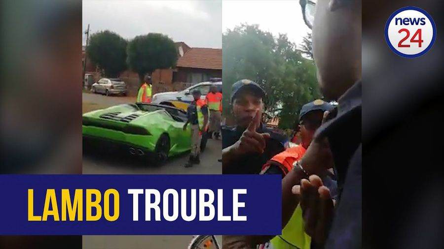 WATCH: Police threaten to slap man for filming pulled over Lamborghini