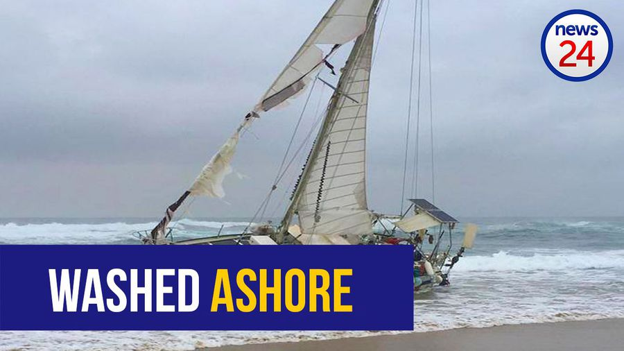 WATCH: Dead sailor found on yacht washed ashore in KZN