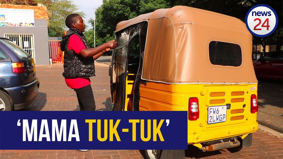WATCH: 'Mama tuk-tuk' finds solace in her three-wheeled career