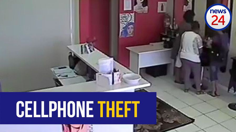 WATCH: 7-year-old caught on camera stealing cellphone