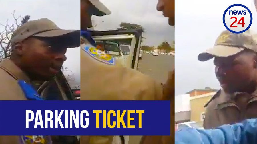 WATCH: 'Do not fight me, I'm doing my job'- traffic officer keeps his cool with motorist