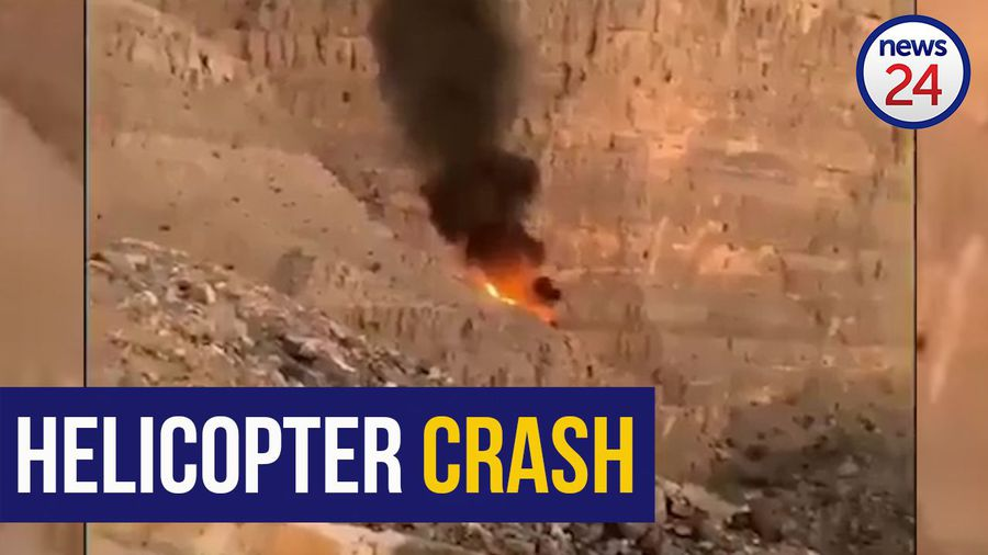WATCH: South African paramedic dies in helicopter crash in the UAE