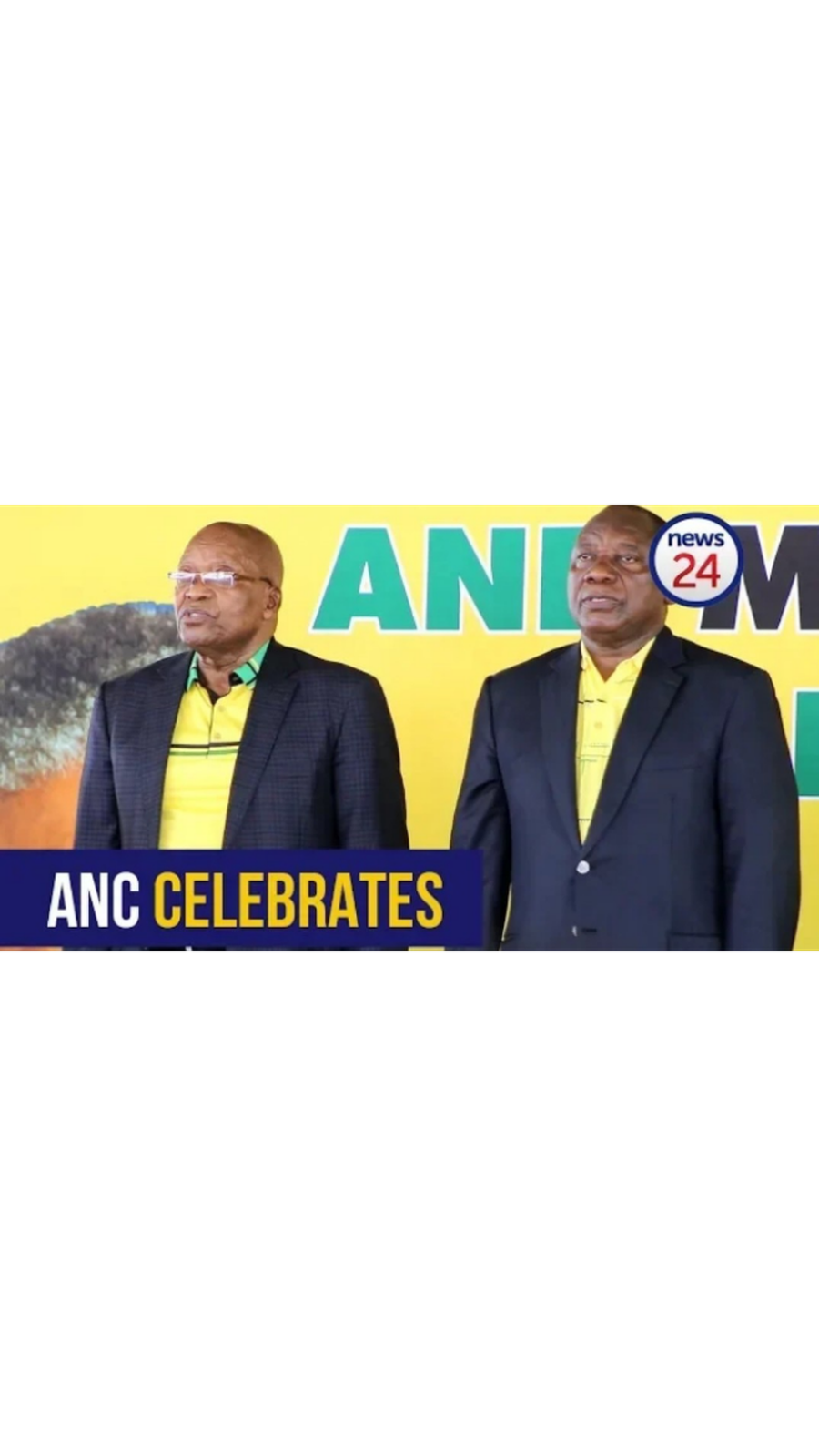 WATCH: 'We are united' - ANC leaders as it marks 107 years