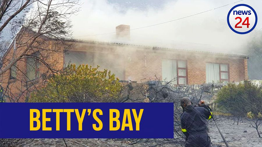 WATCH: At least 31 houses destroyed in Overstrand wildfires; video shows devastation in Betty's Bay