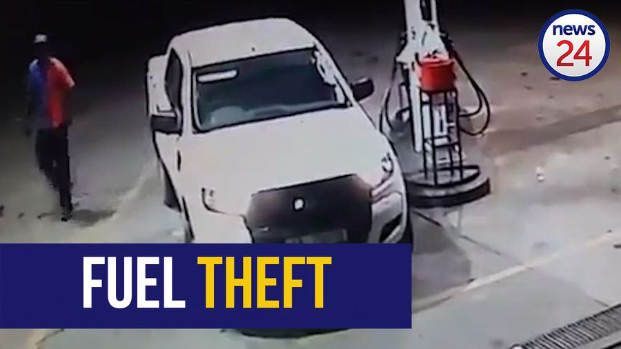 WATCH: Limpopo diesel thief drives off without paying R3 179 bill