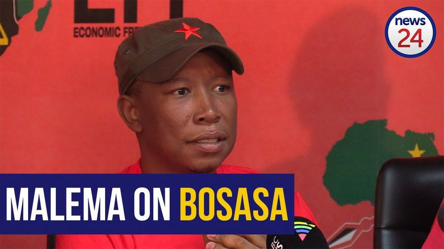 WATCH: Malema dares Ramaphosa to come clean about Bosasa